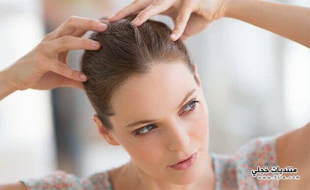 طبيعية لتكثيف الشعر الخفيف