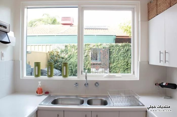 تصميم نوافذ المطابخ