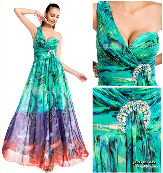 ملابس للمناسبات السهرات 2014