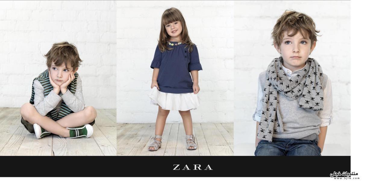 ازياء اطفال زارا 2012 ملابس