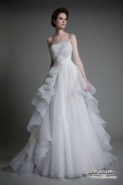 فساتين زفاف للمصمم توني ازياء