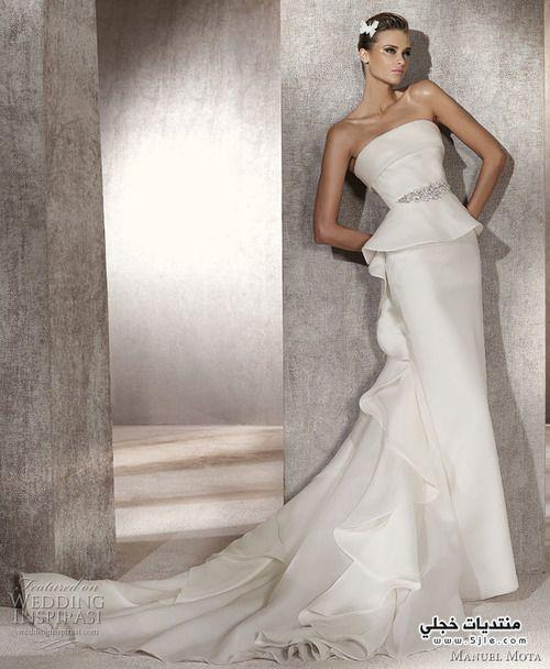 ملابس زواجات 2014
