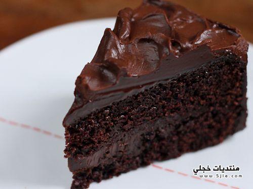 طريقة كعكة الشيكولاتة