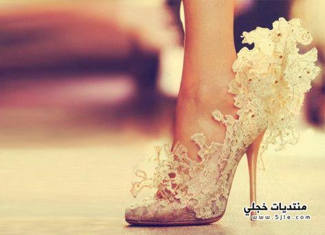 للزفاف احذية عروس روعه احذية
