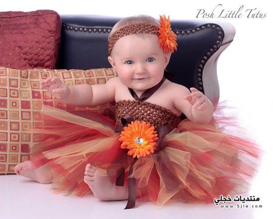فساتين اطفال افراح 2012 ازياء