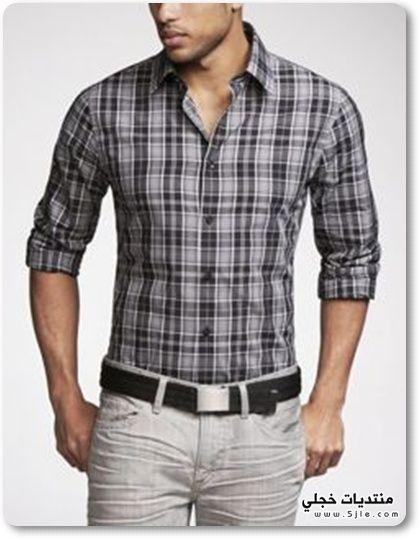 قمصان شتوية 2014 قمصان رجالية