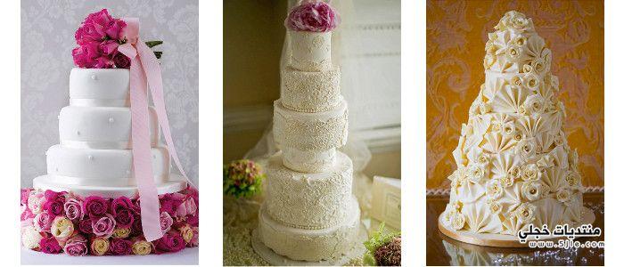 كيكات الافراح 2014 كيكات للزفاف
