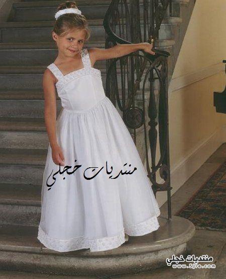 فساتين افراح اطفال 2012 موديلات