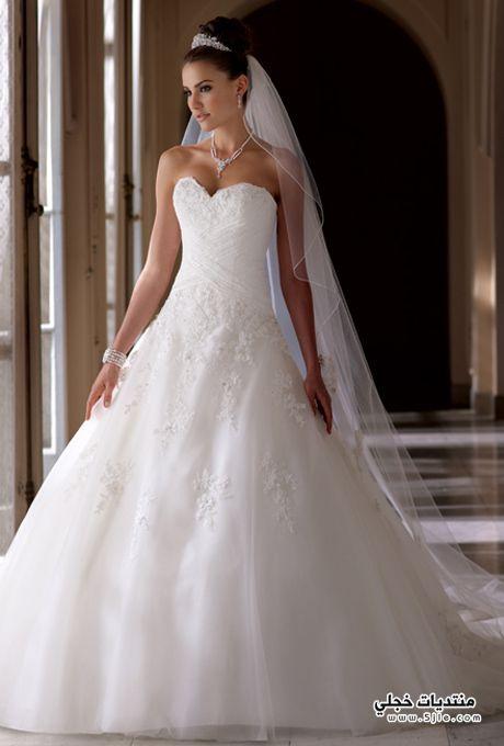 فساتين زفاف ازياء زفاف بالصور