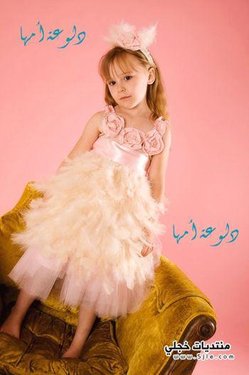 فساتين العيد للاطفال 2013 فساتين