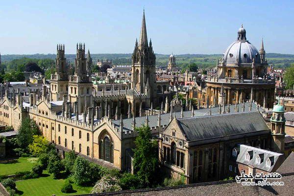 اكسفورد السياحه اكسفورد معلومات اكسفورد
