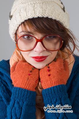 قبعات للشتاء 2014