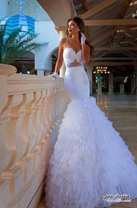 فساتين زفاف ملكية 2014