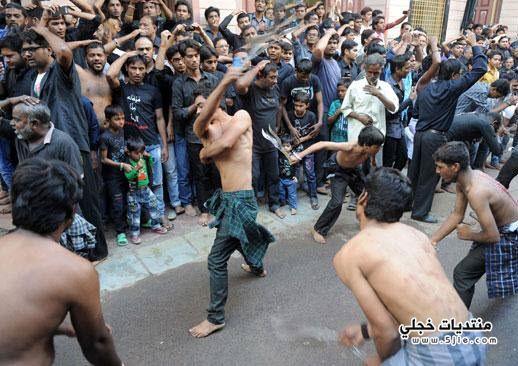 احتفالات الشيعة بيوم عاشوراء