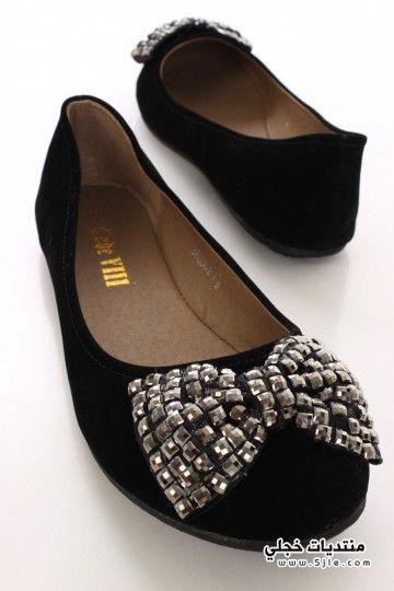احذية فلات 2014