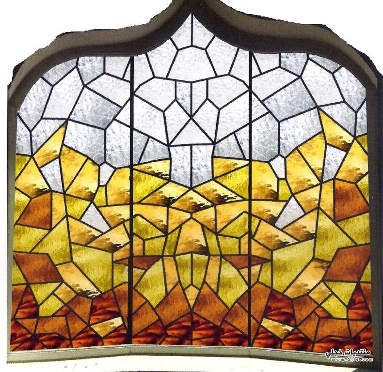 الرسم الزجاج