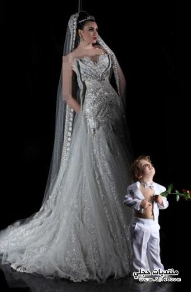 فساتين زفاف رامى سلمون 2014