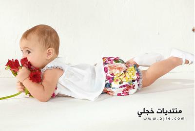 ازياء صيفيه اطفال 2012 ازياء