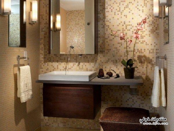 ديكورات حمامات للمنازل 2018