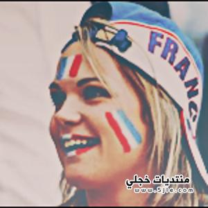 مشجعات منتخب فرنسا 2018