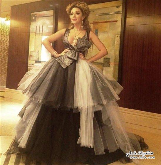 فستان ميريام فارس ديور 2013