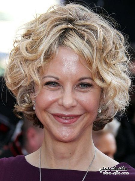 women's short curly hairstyles 2013