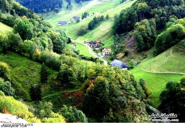 السياحه المانيا 2013 الغابة السوداء
