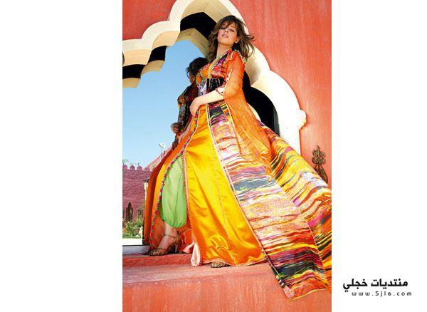 جلابيات ملونة للاستقبال 2013 احدث