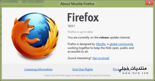 ������ �������� 2013 Mozilla Firefox