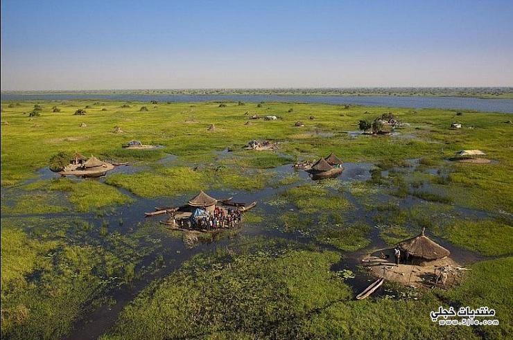 أكبر الأراضي الرطبة العالم