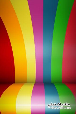 خلفيات جالكسى 2013، خلفيات ملونة