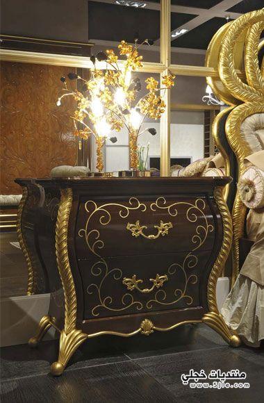 ديكورات كلاسيكيه جديده 2014 ذهبية