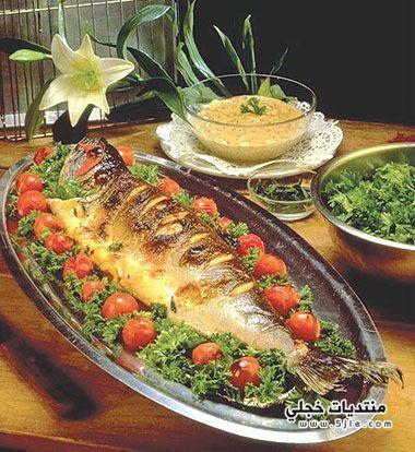 طريقة تحضير طاجن السمك اللذيذ
