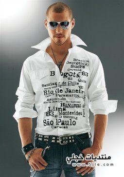 كولكشن قمصان رجالي رائعه 2013