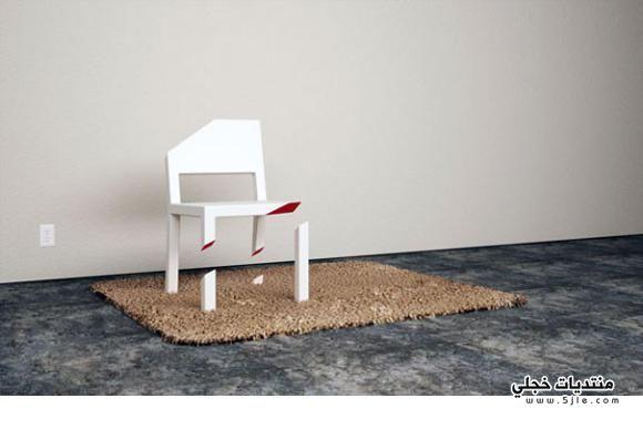 الإبداع تصميم أغرب الكراسي