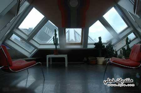 البيوت المكعبة هولندا2013، بيوت غريبه