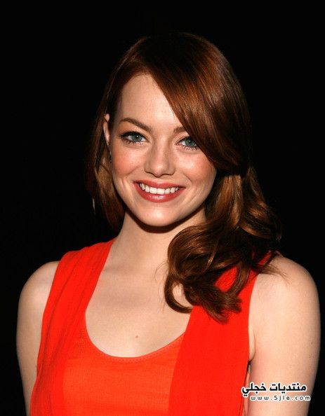 Emma Stone Long Hairstyles 2013