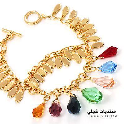 كولكشن مجوهرات الاحجار الكريمه 2014