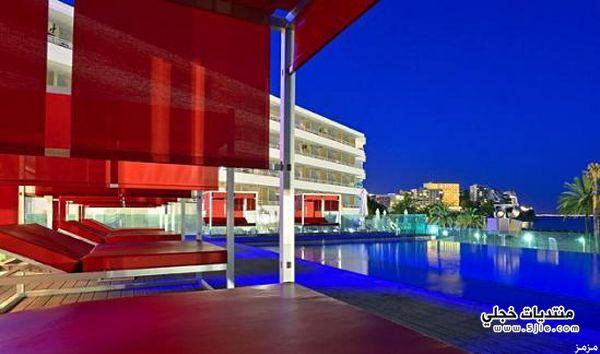 فندق تويتر بمدينة مايوركا الاسبانية