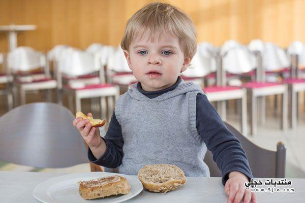 الأطعمة المناسبة للأولاد السنة