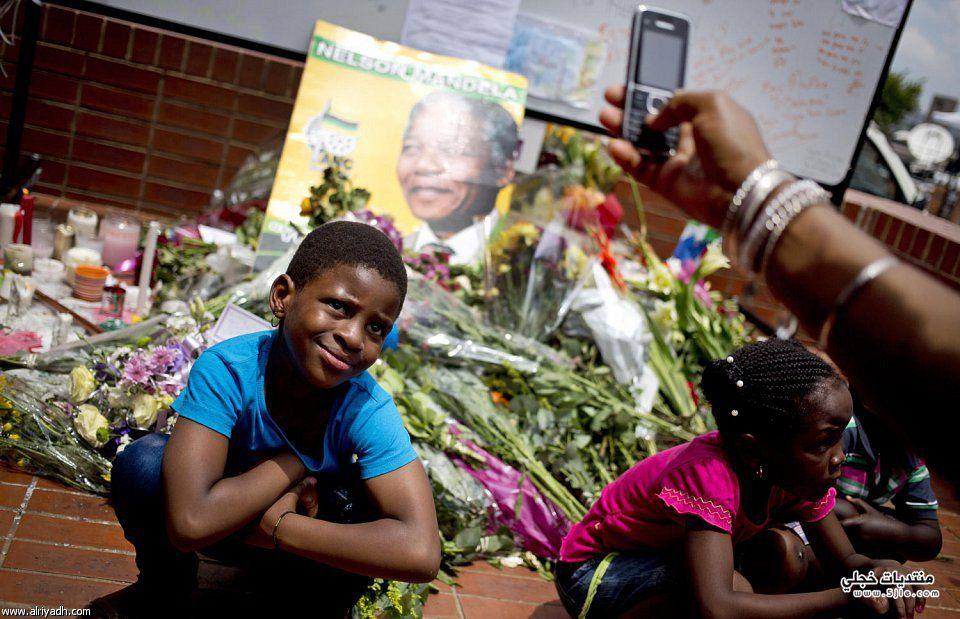 الوداع الأخير لمانديلا