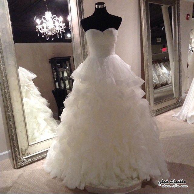 فساتين زفاف 2015