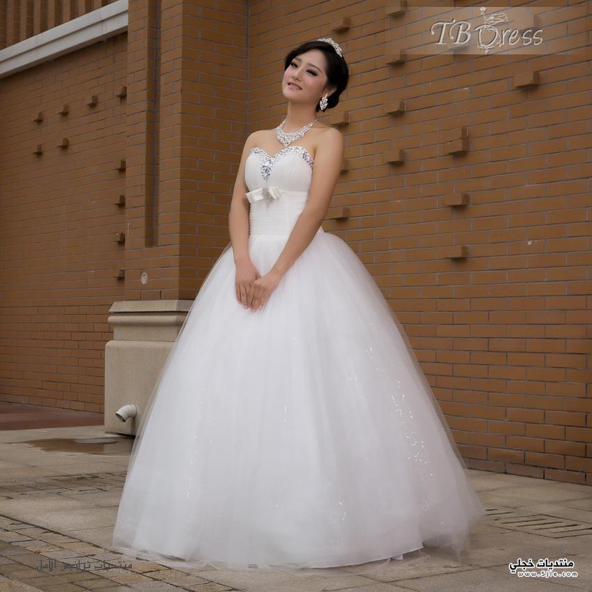 فساتين زفاف موديلات 2014