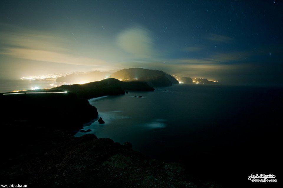 جاذبية أضواء المساء