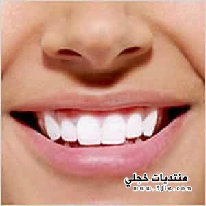 طريقة التخلص اصفرار الاسنان 2014
