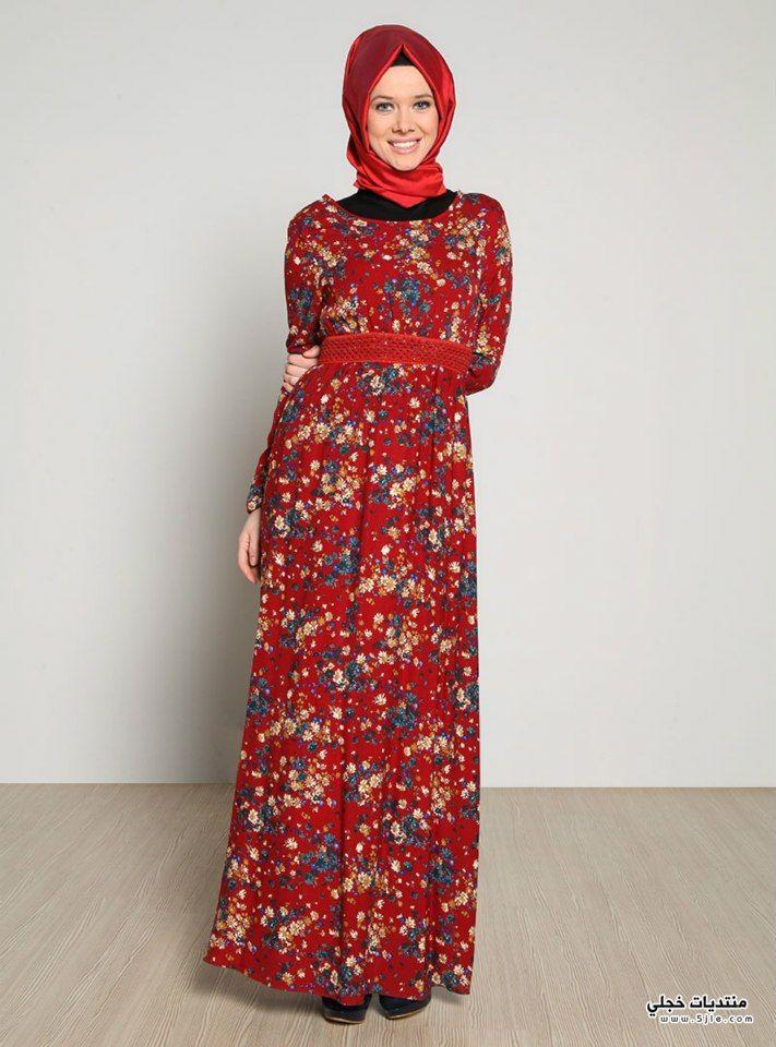 ملابس تركية للمحجبات 2014