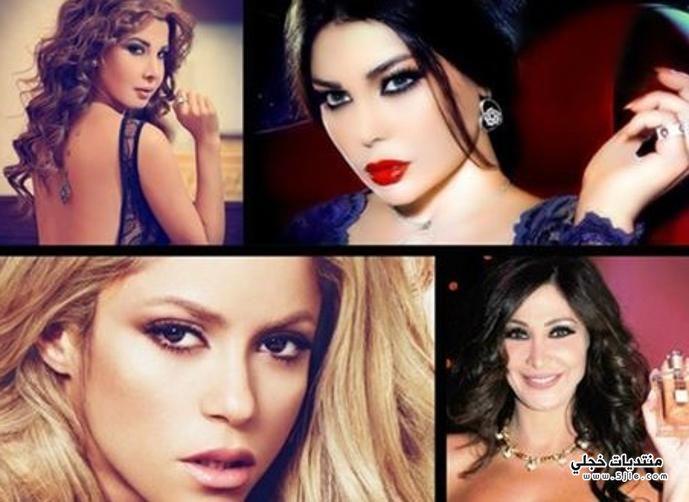 ثروات النجوم العرب والعالميين