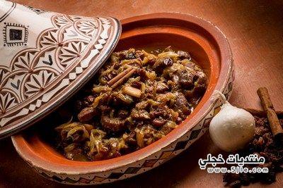 طريقة الطاجن المغربي بالبرقوق