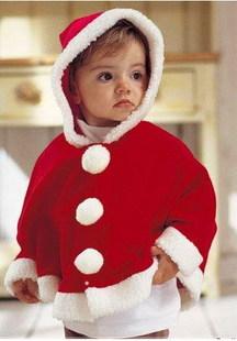 ازياء بابا نويل للاطفال